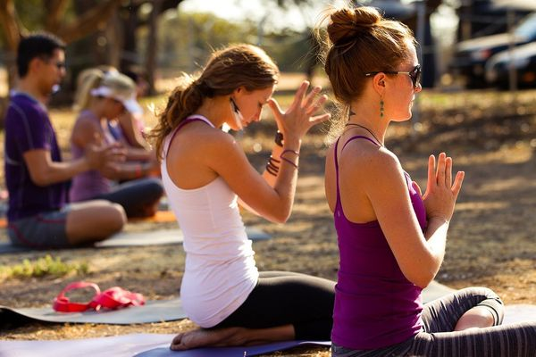 America's Yoga Imports Are Soaring