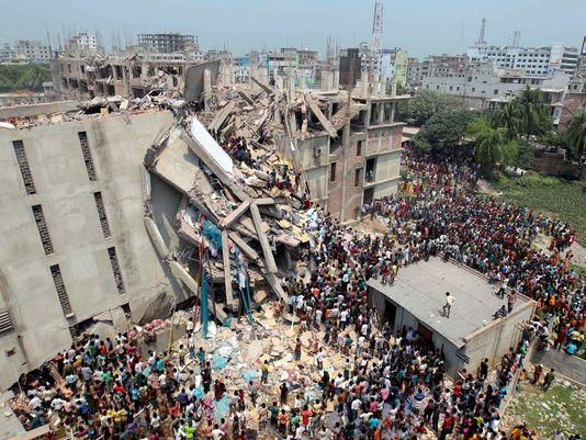 Collapse of Bangladesh factories raises questions, concerns about suppliers