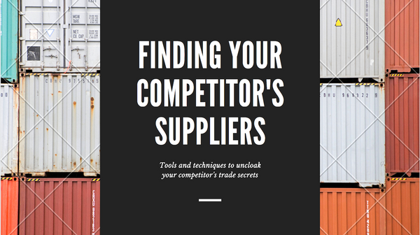 How to find your competitor's suppliers in 2021